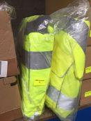 1 LOT TO CONTAIN 2 X HIGH VIS JACKETS IN SIZE XL L-8