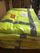1 LOT TO CONTAIN 4 X HIGH VIS JACKETS IN SIZE LARGE L-8