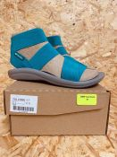 COLUMBIA LADIES SANDALS - UK SIZE 3/AQUA