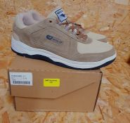 GOLA MENS BELMONT SUEDE FITNESS SHOES - UK SIZE 7/STONE