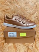 HEAVENLY SOLES LADIES SNEAKERS - UK SIZE 5/ROSE GOLD