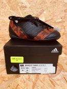 ADIDAS NEMEZIZ TANGO 17.3 TF JUNIOR BOYS FOOTBALL BOOTS - UK SIZE 10K/BLACK