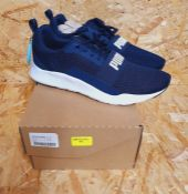 PUMA WIRED MENS TRAINERS - UK SIZE 11/NAVY