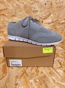 HEAVENLY SOLES LADIES LEISURE TRAINER - UK SIZE 4/GREY