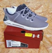 UNDER ARMOUR HOVR SLK LADIES TRAINERS - UK SIZE 7/GREY