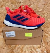 ADIDAS SOLAR BOOST WOMENS TRAINERS - UK SIZE 4/HOT PINK