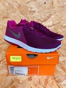 NIKE WOMENS TRAIL RUNNING SHOES - UK SIZE 4/PINK