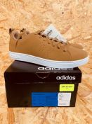 ADIDAS MENS VS ADVANTAGE CL TRAINERS - UK SIZE 6/TOBACCO