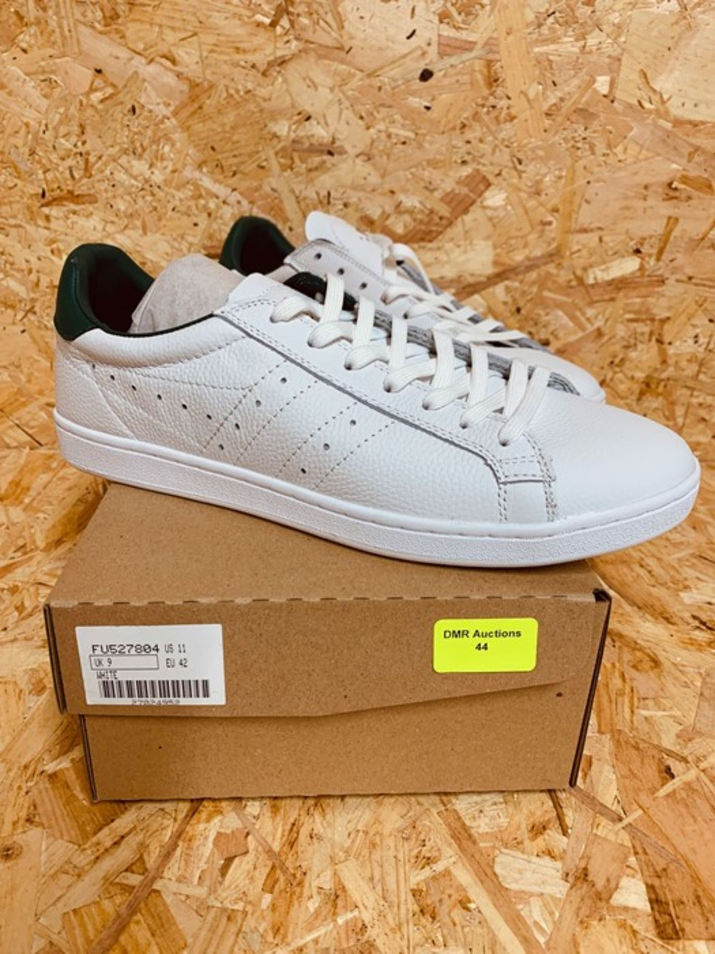 GOLA MENS CLS LEATHER TRAINER - UK SIZE 9/WHITE