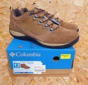 COLUMBIA PEAKFREAK MENS WALKING SHOES - UK SIZE 12/SAND