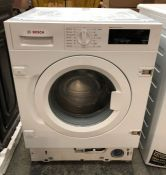 BOSCH WIW28300GB IINTEGRATED WASHING MACHINE