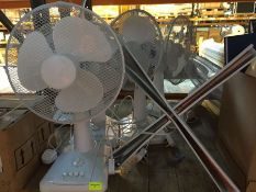 1 LOT TO CONTAIN AN ASSORTMENT OF OFFICE FANS IN VARIOUS CONDITIONS - L9