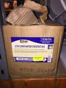 1 LOT TO CONTAIN 4 X 2L TUBS OF ZENITH ULTRA CLEANER SANITISER CONCENTRATE