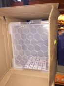1 LOT TO CONTAIN A BOX OF 3 X REALLY USEFUL 35L STORAGE BOXES - L9