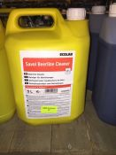 1 LOT TO CONTAIN A 5L TUB OF ECOLAB SAVOL BEERLINE CLEANER