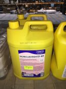 1 LOT TO CONTAIN 2 X 5L TUBS OF ZENITH MACHINE GLASS RENOVATOR
