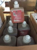 1 LOT TO CONTAIN 9 X 1L TUBS OF ROSE FOAM HAND WASH - L9