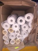 1 LOT TO CONTAIN A BOX OF LINING PAPER, THERE ARE 20 ROLLS IN THIS LOT, CONDITIONS VARY
