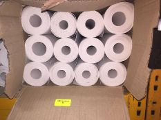 1 LOT TO CONTAIN A BOX OF LINING PAPER, THERE ARE 12 ROLLS IN THIS LOT, CONDITIONS VARY