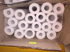 1 LOT TO CONTAIN A BOX OF LINING PAPER, THERE ARE 18 ROLLS IN THIS LOT, CONDITIONS VARY