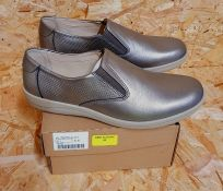 PADDERS LADIES EXTRA WIDE FITTING SHOES - UK SIZE 7/PEWTER