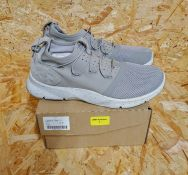 UNDER ARMOUR DRIFT TWO AUTUMN TAN TRAINERS - UK SIZE 7/STONE