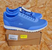 LACOSTE HELAINE WOMENS TRAINERS - UK SIZE 6/BLUE/WHITE