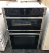 NEFF U1ACI5HN0B/50 BUILT-IN DOUBLE ELECTRIC OVEN / RRP £999.99 / CONDITION REPORT: UNTESTED CUSTOMER