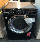 HOOVER H3DS4965TACBE-80 WASHER DRYER / CONDITION REPORT: UNTESTED CUSTOMER RETURN. USED. LIGHT