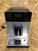 MIELE CM5510 SILENCE COFFEE MACHINE - SILVER/GREY / RRP £949.00 / CONDITION REPORT: UNTESTED