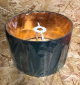 """CONTEMPORARY 12"""" TABLE/PENDANT LAMP SHADE WITH SHINY COPPER INNER BY CANORA GREY - GREEN BY CANORA G"""