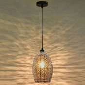 ELIDA 1-LIGHT DOME PENDANT (SET OF 2) BY BAY ISLE HOME