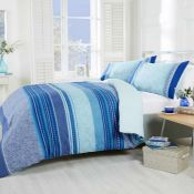 DUVET COVER SET - TEAL / SIZE: KING BY LATITUDE VIVE