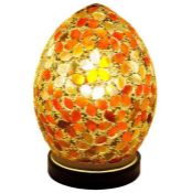 CULLER 20CM TABLE LAMP - AMBER BY WORLD MENAGERIE