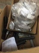 1 LOT TO CONTAIN AN ASSORTMENT OF OFFICE SUPPLIES, ITEMS TO INCLUDE : SAFETY GOGGLES/GLASSES AND