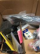 1 LOT TO CONTAIN AN ASSORTMENT OF OFFICE SUPPLIES, ITEMS TO INCLUDE : STEEL TOE CAP WELLINGTON