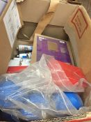1 LOT TO CONTAIN AN ASSORTMENT OF OFFICE SUPPLIES, ITEMS TO INCLUDE : BOSTIK SEALANT, CISTERN