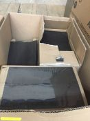 1 LOT TO CONTAIN A BOX OF BLACK MEDICATION BAGS/SICKS BAGS - L10