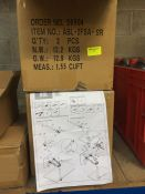 1 LOT TO CONTAIN 2 X BOXES OF DUAL MONITOR MOUNTING BRACKETS - L10