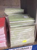 1 LOT TO CONTAIN 3 X PACKS OF GREEN SCHOOL LINED WORK BOOKS -L10