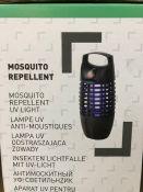 5 X MOSQUITO UV REPELLENTS/KILLER / COMBINED RRP £96.00 / GRADE A, UNTESTED