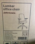 HOUSE BY JOHN LEWIS LUMBAR OFFICE CHAIR