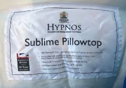 HYPNOS SUBLIME PILLOWTOP POCKET SPRING MATTRESS / SIZE: SUPERKING