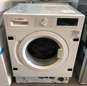 BOSCH SERIE 6 WIW28301GB INTEGRATED WASHING MACHINE