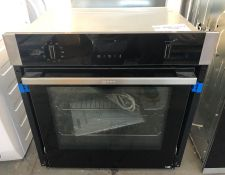 NEFF B6ACH7HH0B SLIDE AND HIDE PYROLYTIC BUILT-IN SMART SINGLE OVEN