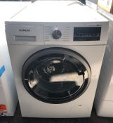 SIEMENS iQ500 WD15G422GB FREESTANDING WASHER DRYER