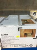 ONE LOT TO CONTAIN ONE STAINLESS STEEL INTEGRATED HOOD
