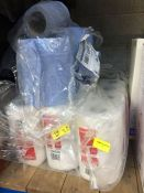 ONE LOT TO CONTAIN 3 BAGS OF 6 KATRIN CLASSIC TOILET PAPER ALSO 2 SMALL ROLLS OF BLUE ROLL