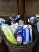 ONE LOT TO CONTAIN 2 LARGE TUBS OF CLEANING CHEMICALS (BLUE STAR DE-ICER, ALL PURPOSE CLEANER AND