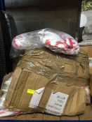 ONE LOT TO CONTAIN A LARGE BOX OF SAGRES MINI CERVEJA SEALED T-SHIRTS
